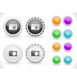 web menu items vector image vector image