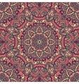 Oriental ornate seamless pattern vector image