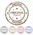 grunge rubber stamps vector image
