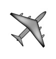 airplane icon sign vector image vector image