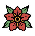 blooming flower concept vector image