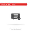 document loading icon for web business finance vector image