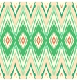 Modern geometric pattern ikat vector image vector image