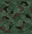 woodland forest camouflage seamless pattern vector image vector image