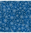 Christmas Snowflakes Pattern vector image