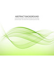 a natural green background vector image vector image