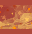 abstract orange background of autumn vector image vector image