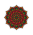 design mandala vintage decorative vector image vector image