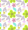 Floral Patterned Background vector image vector image