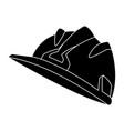 hardhat worker helmet vector image