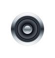 subwoofer speaker vector image