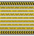 Danger tapes vector image