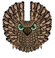 Nocturnal birds of prey Owl vector image