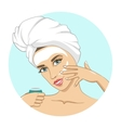 Mask for the face vector image vector image