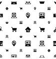 sale icons pattern seamless white background vector image vector image