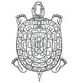 thai yantraThai traditional tattooturtle vector image