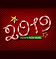 2019 of lollipops christmas a vector image vector image