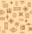african-pattern-04 vector image vector image