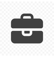 briefcase icon mobile app and web site portfolio vector image vector image