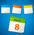 Calendar stickers vector | Price: 1 Credit (USD $1)