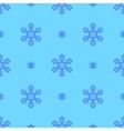 Creative Ornamental Seamless Blue Pattern vector image vector image