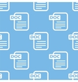 Doc seamless pattern vector image vector image