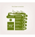 infographics renewable nature vector image vector image
