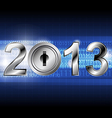 New year 2013 with digital concept vector | Price: 1 Credit (USD $1)