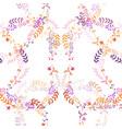 seamless romantic pattern vector image vector image