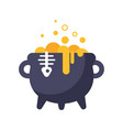 witchs kettle vector image
