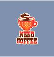 flat design social network sticker vector image