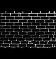 distress brickwall overlay vector image vector image