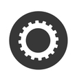 gear machinery icon vector image