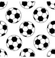 soccer ball seamless vector image