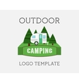 Adventure Outdoor Tourism Travel Logo Vintage vector image vector image