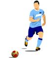 al 1127 soccer 02 vector image vector image