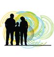 Familiy vector image vector image