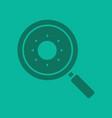 search glyph color icon vector image
