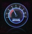 speedometer interface background vector image
