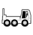truck rocker vector image