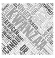 Understanding the Holiday of Kwanzaa Word Cloud vector image vector image