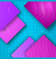 3d colorful elegant texture with engraved effect vector image vector image