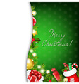 Christmas Classic vector image vector image