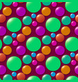 colored circle seamless pattern shape art vector image