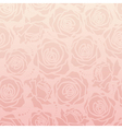 Rose romantic pattern vector image vector image