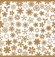 seamless background with flowers flower theme vector image