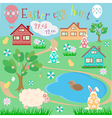 Easter Egg Hunt vector image
