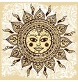Ethnic ornamental sun vector | Price: 1 Credit (USD $1)
