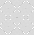 Monochrome pattern with light gray wavy guilloche vector image