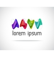 Logo of Colored Shapes vector image